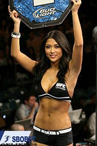 UFC round girl 2