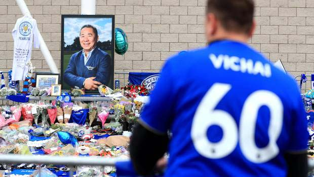 fans leicester city so sad about that khun vichai