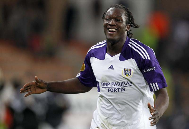 Romelu Lukaku in anderlecht club