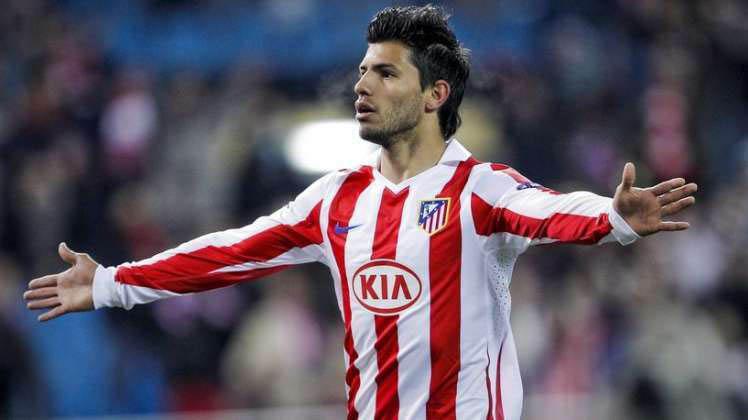 Aguero in at.madrid football club