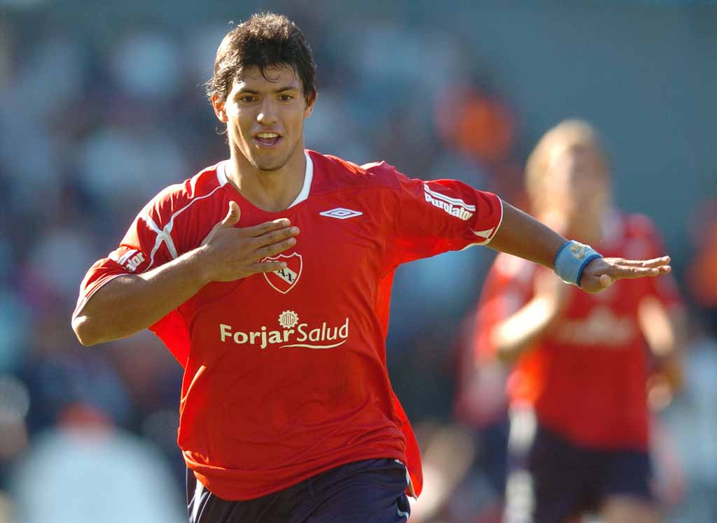 Wonderkid Aguero in Independiente team football club