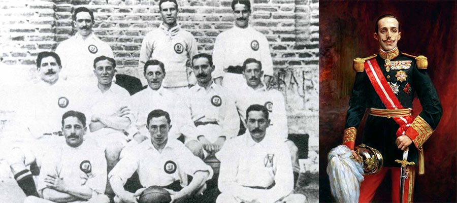 Real Madrid King Alfonso XIII