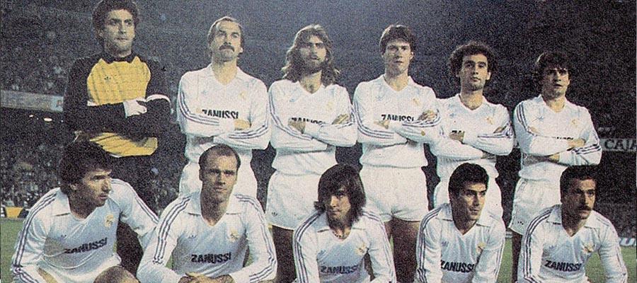 [006] Real Madrid La Quinta del Buitre 1983